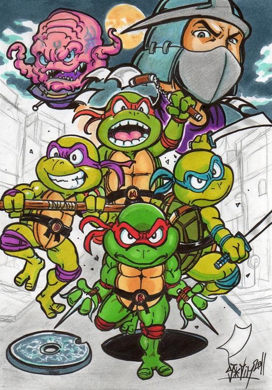 Djigui manga news manga news - Tortue ninja couleur ...