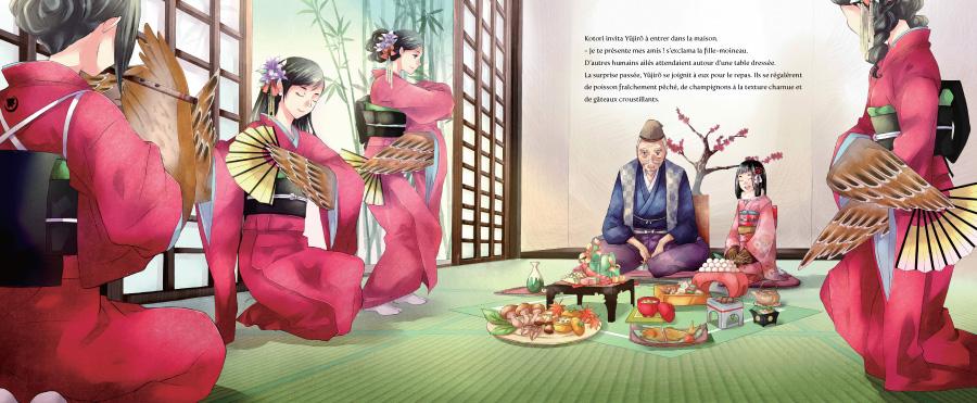 kotori le chant du moineau 09 ao t 2013 manga news. Black Bedroom Furniture Sets. Home Design Ideas