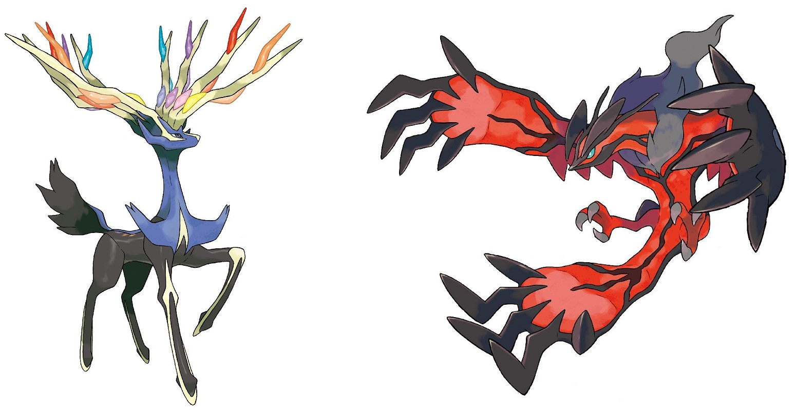Pokemon x y images des starters et l gendaires 17 - Pokemon legendaire pokemon y ...
