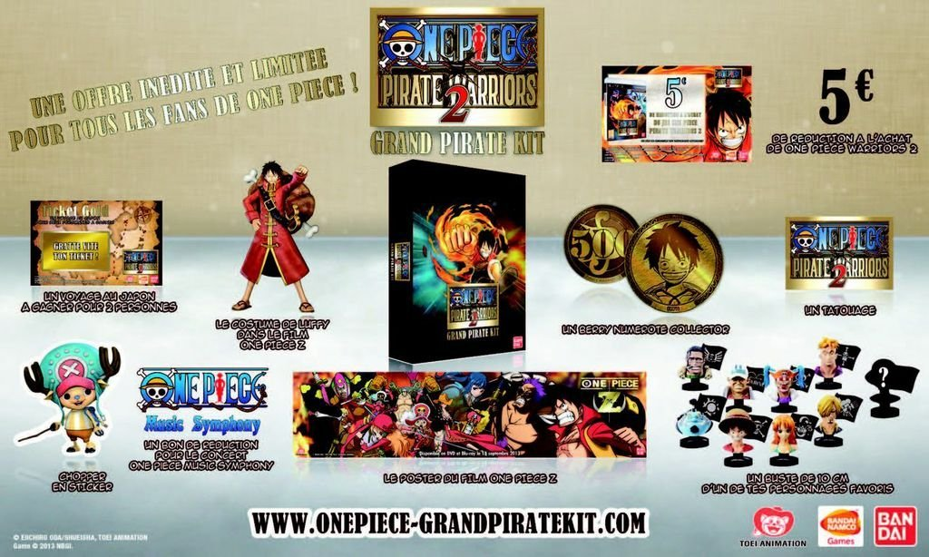 Jeux Video Le One Piece Grand Pirate Kit