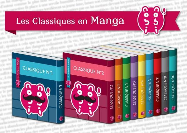 Une collection de Classiques en Manga arrive chez nobi