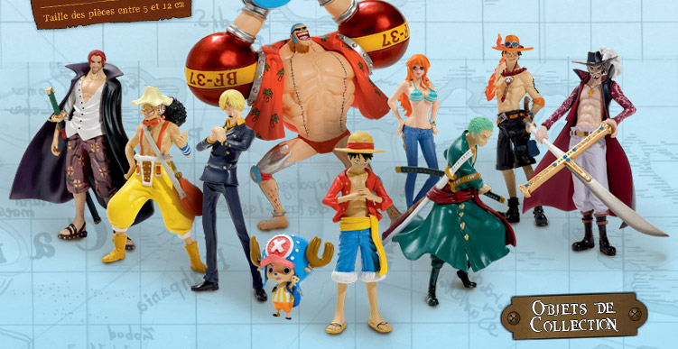 hachette lance une collection de figurines one piece 10 f vrier 2015 manga news. Black Bedroom Furniture Sets. Home Design Ideas