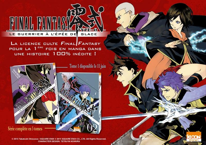 final fantasy manga