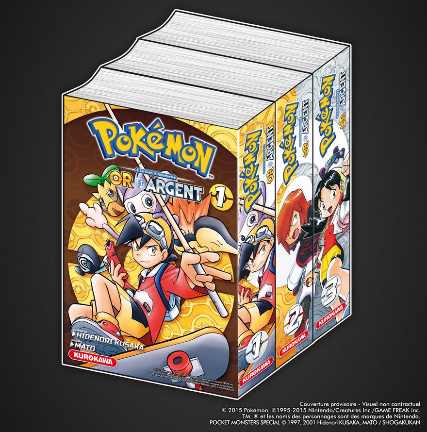 Pr cisions sur l 39 dition du manga pok mon or argent chez - Pokemon argent pokemon rare ...
