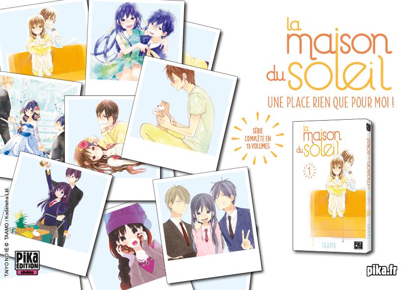 pika vous invite dans la maison du soleil 23 novembre 2016 manga news. Black Bedroom Furniture Sets. Home Design Ideas