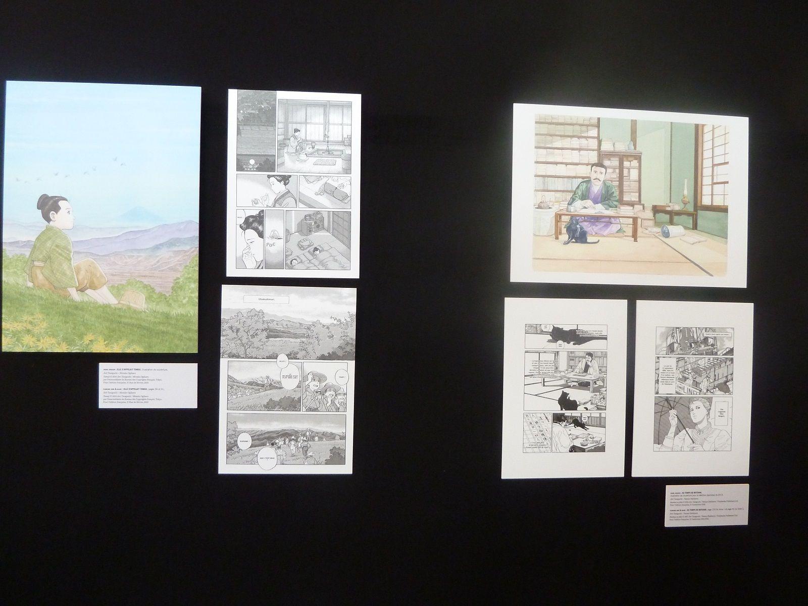 Livre paris l 39 exposition hommage jir taniguchi en for Exposition paris 2017