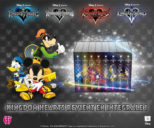 Kingdom Hearts Revient En Version Intégrale Chez Nobi Nobi
