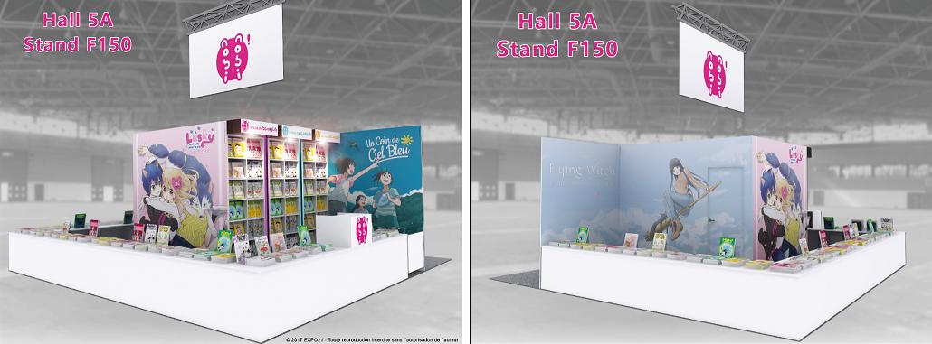 Japan Expo Les Stands : Le stand nobi nobi ! à japan expo 30 juin 2017 manga news