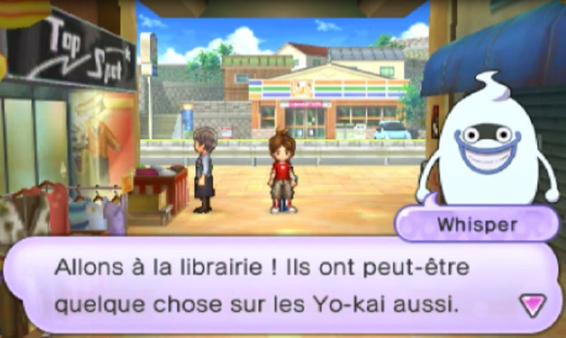 test du jeu vid o yo kai watch 16 ao t 2017 manga news. Black Bedroom Furniture Sets. Home Design Ideas