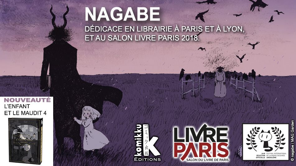 Le planning de nagabe au salon livre paris se pr cise 01 for Salon du livre paris 2018