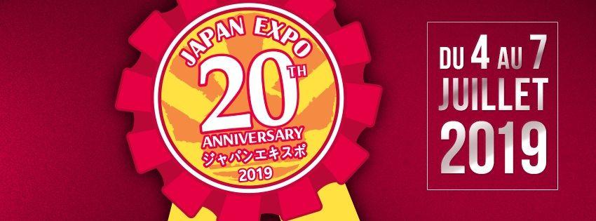 Japan Expo 20ème impact - du 4 au 7 juillet 2019