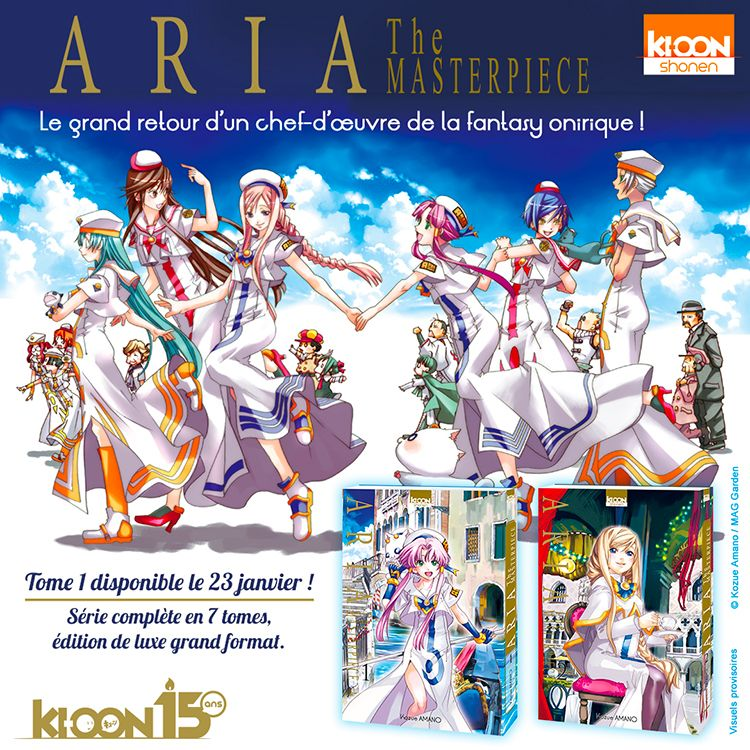 ClubOni - Aria Masterpiece licencié chez Ki-oon Annonce-aria-masterpiece-ki-oon