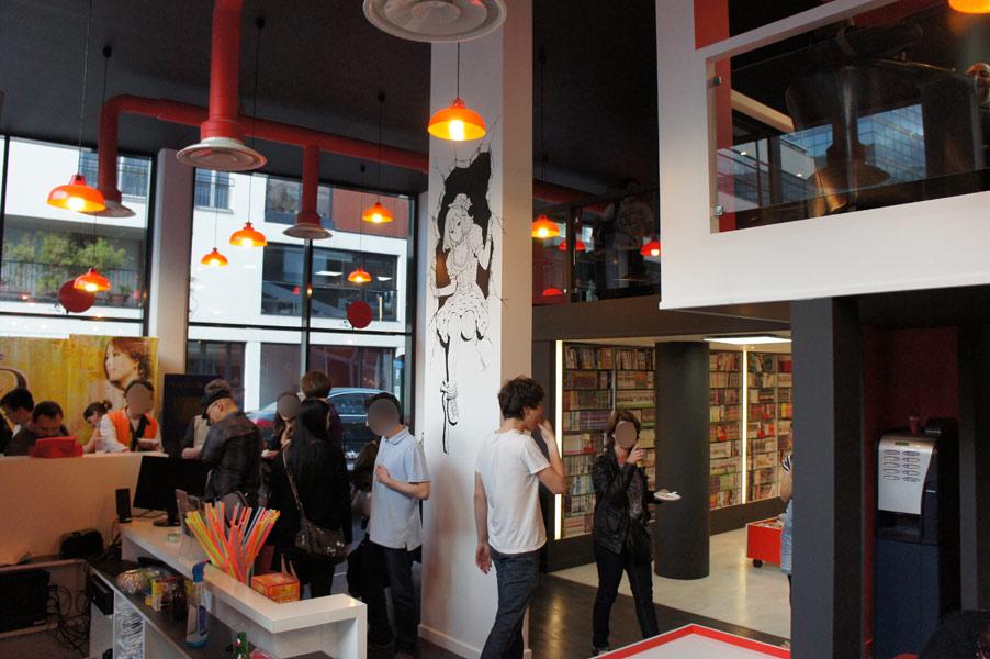 Manga Cafe V Paris