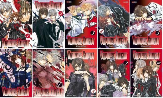 livre manga vampire