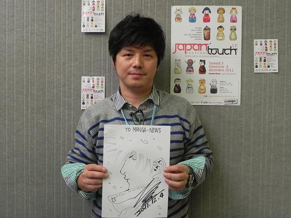 [MANGAKA] Shin'ichi Sakamoto Sakamoto-itw-dec2012