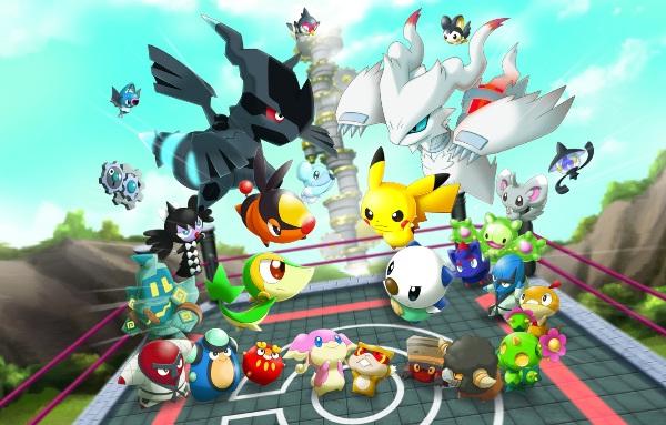 Sortie de super Pokémon rumble sur 3DS! dans NEWS SuperPokemonRumble