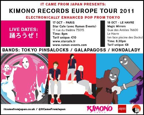 tokyo pinsalocks hondalady galapagoss au havre 14 octobre 2011 manga news. Black Bedroom Furniture Sets. Home Design Ideas