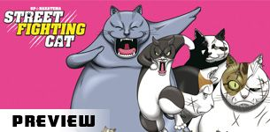 Street fighting cat preview