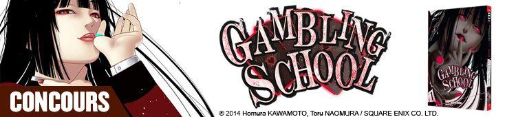 manga news - Gambling School