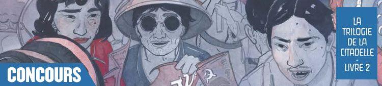 Concours Manga news La trilogie de la citadelle