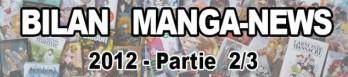 Dossier manga - Bilan Manga-News 2012 - Partie 2