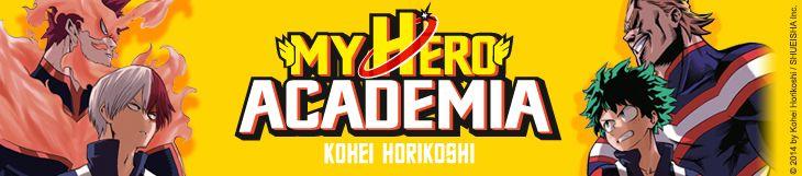 Dossier - My Hero Academia - Partie 1