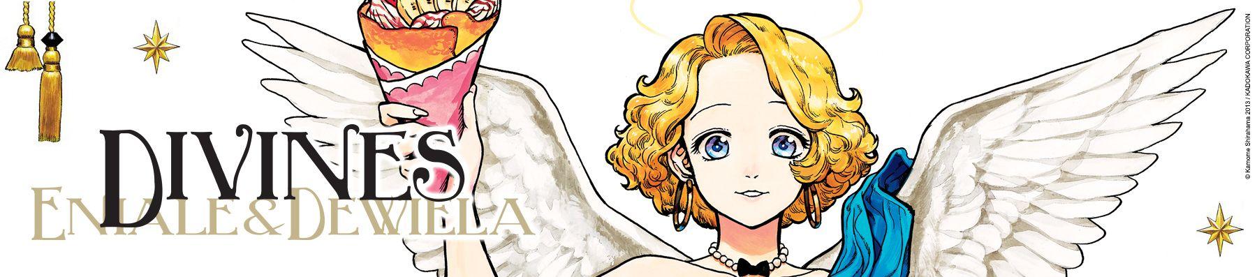Dossier manga - Divines - Eniale & Dewiela