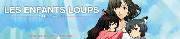 Dossier manga - Les enfants loups - Ame & Yuki