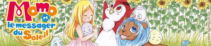 Dossier manga - Momo et le messager du Soleil