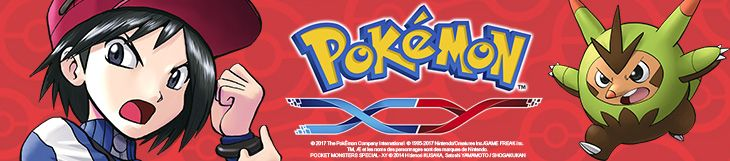 Dossier manga - Pokémon X/Y