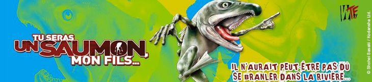Dossier manga - Tu seras un saumon, mon fils...