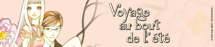 Dossier manga, anime, mangaka et festival  - Voyage au bout de l'été