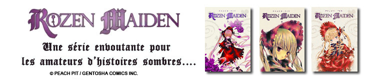 Dossier manga - Rozen Maiden