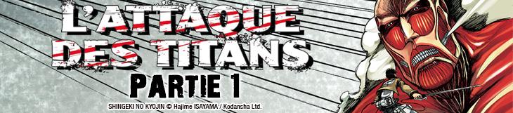 Dossier manga - L'Attaque des Titans - Partie 1