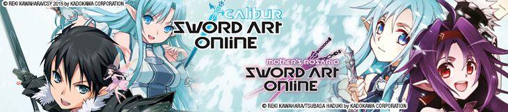 Dossier manga - Sword Art Online - Calibur & Mother's Rosario
