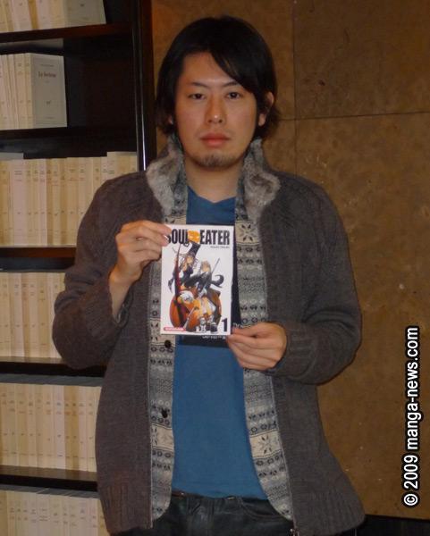 interview auteur manga - ÔKUBO Atsushi / OHKUBO Atsushi