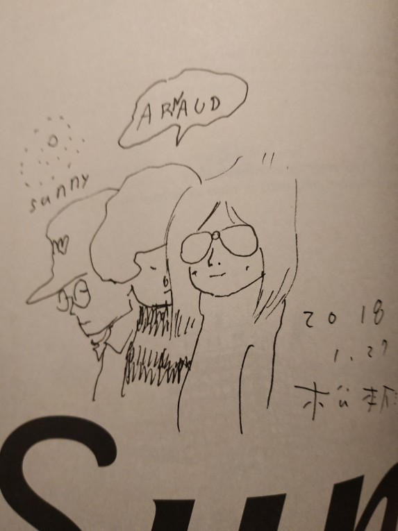 Dédicace MATSUMOTO Taiyo dans Sunny t3
