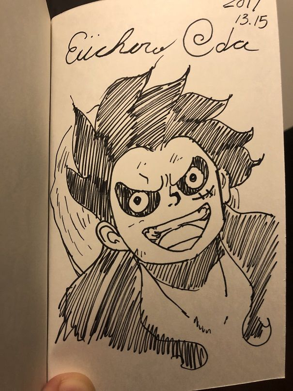 Dédicace ODA One Piece