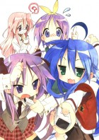 manga animé - Lucky Star