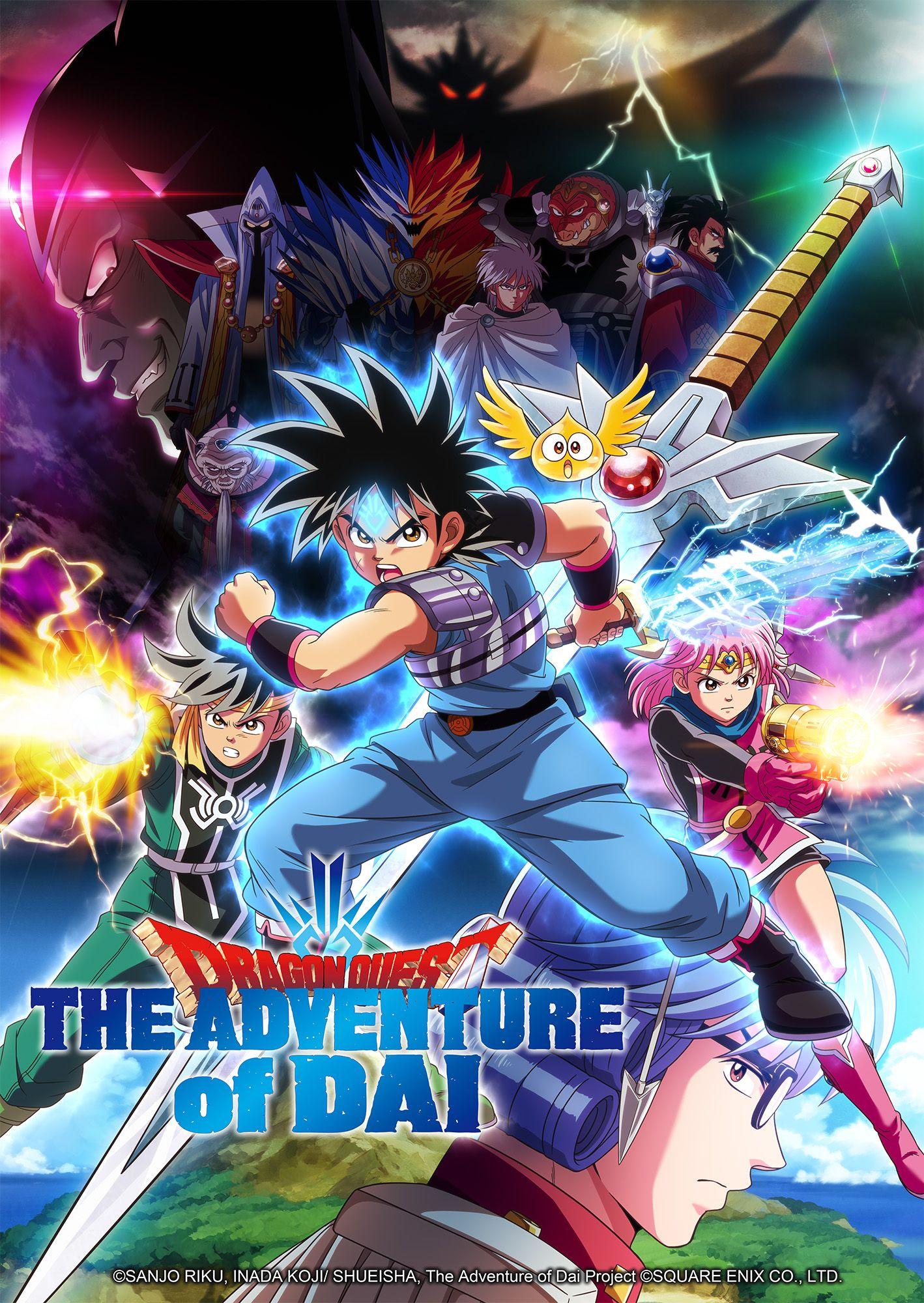 Dragon Quest - The adventure of Dai
