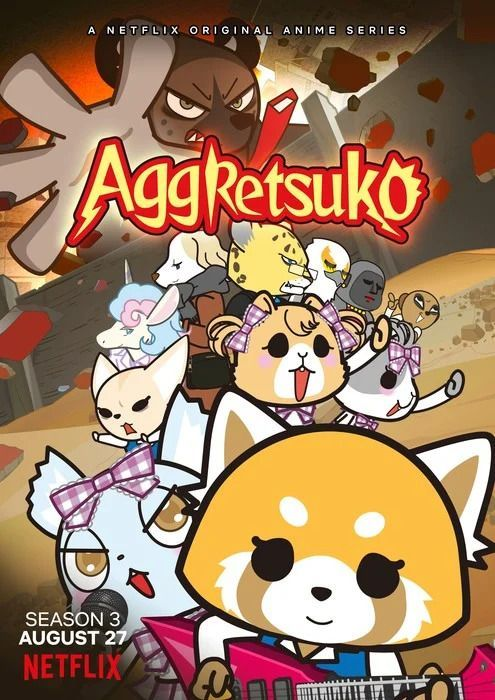 Aggressive Retsuko - Aggretsuko - Saison 3