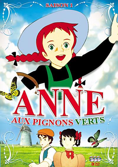 Anne aux pignons verts anime s rie manga news for Anne la maison aux pignons verts dvd