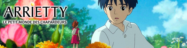 Arrietty - Le petit monde des Chapardeurs - Anime