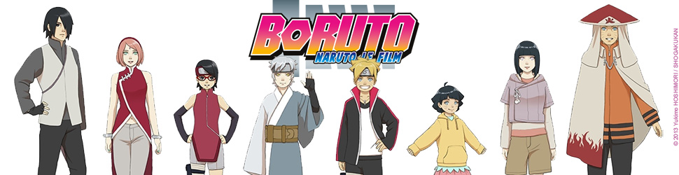 Boruto - Naruto The Movie - Anime