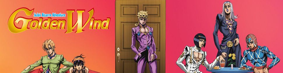 Jojo's Bizarre Adventure - Golden Wind - Anime