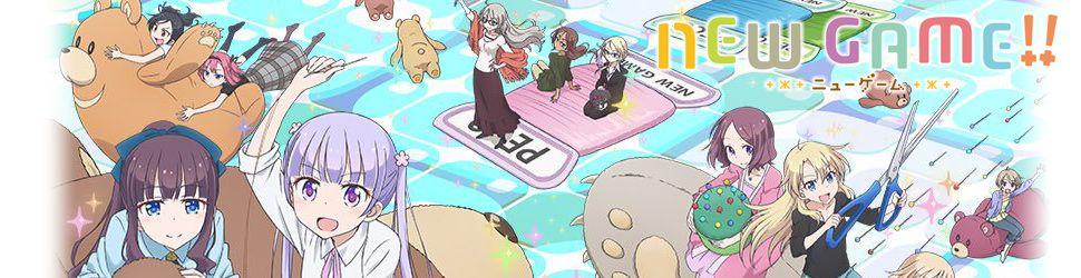 New Game!! (Saison 2) - Anime