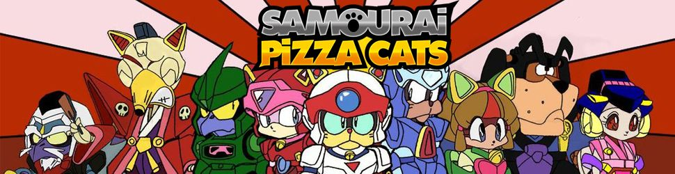 Samouraï Pizza Cats - Anime