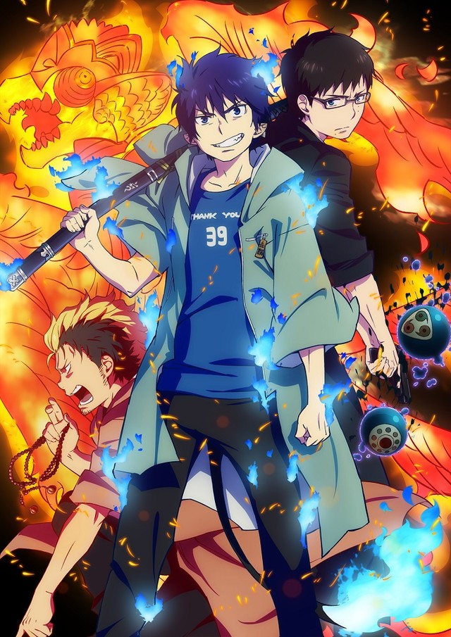 anime blue exorcist saison 2 episode 12 25 mars 2017 manga news. Black Bedroom Furniture Sets. Home Design Ideas