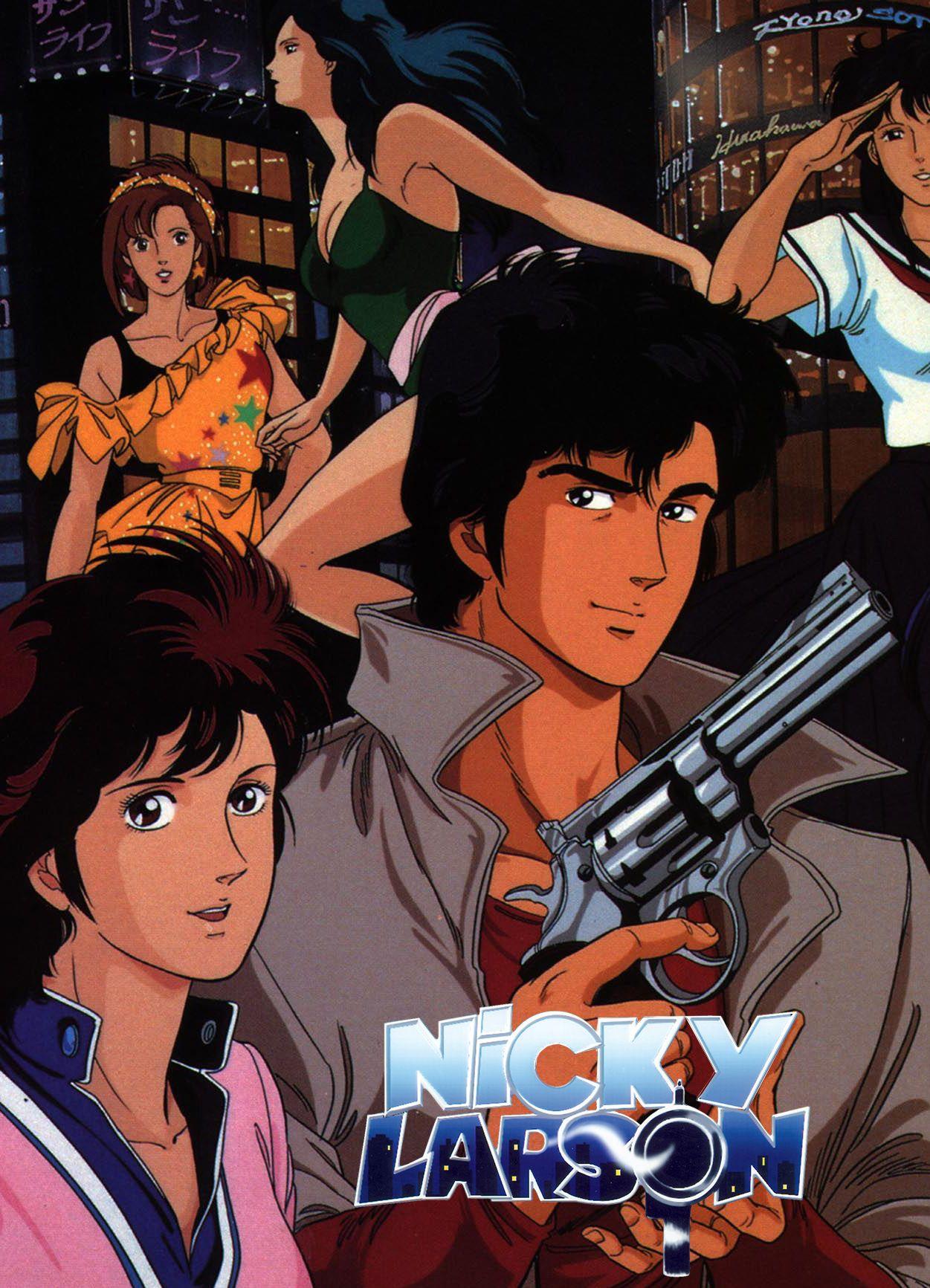 City Hunter / Nicky Larson City-hunter-anime-nicky-larson