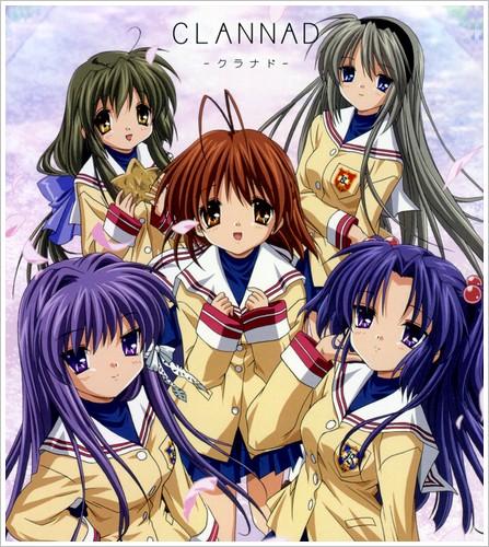 Clannad Clannad-anime